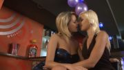 Lesbian lovers spending some hot time together